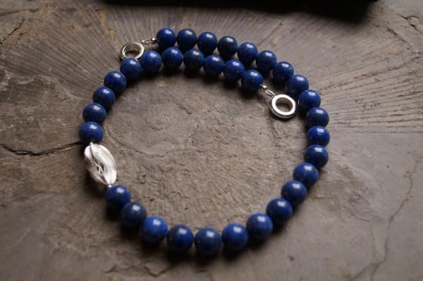 Lapis Lazuli Kette 925 Silber