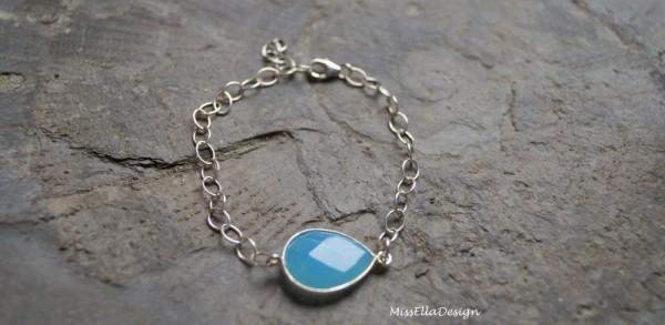 Armband Chalcedon 925 Silber